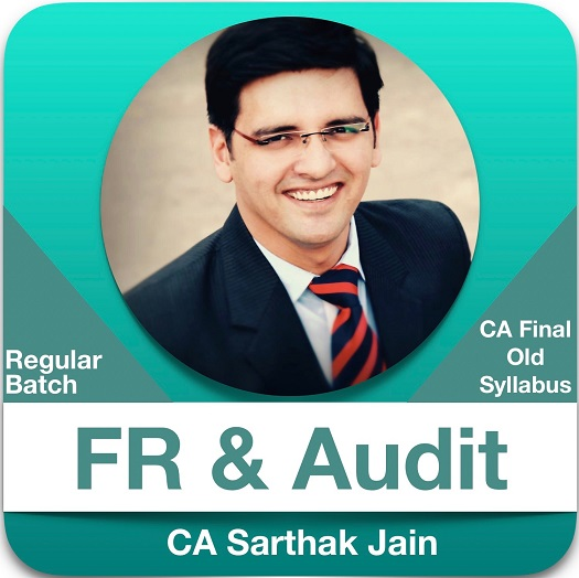 CA Final FR (2 View) & Audit (1.5 View) Regular Batch Combo