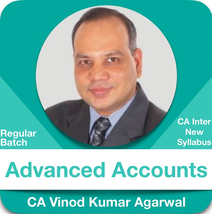 Advanced Accounting Regular Batch in Hindi ( 1.2 & 3 View )