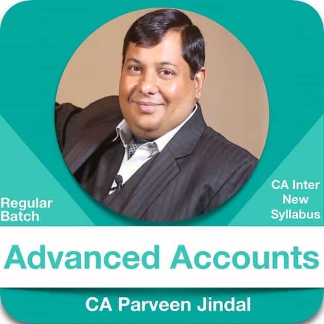Advanced Accounting Regular Batch