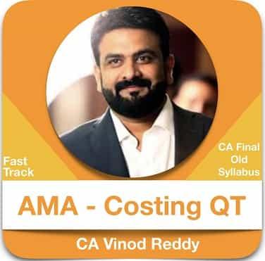 AMA (Costing + QT) Fast Track Batch