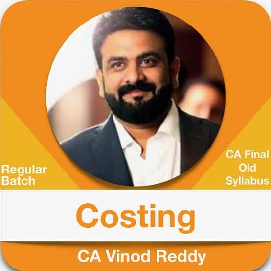 Cost Management Regular (Old Syllabus)