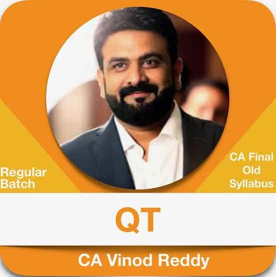 CA Final Quantitative Techniques Regular Batch Old Syllabus by CA Vinod Reddy