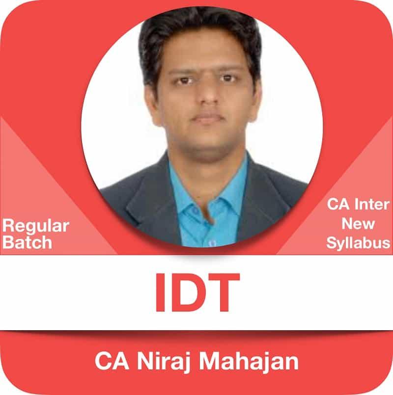 IDT Regular Batch