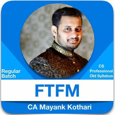 CS Professional Financial Treasury and Forex Management by CA Mayank Kothari
