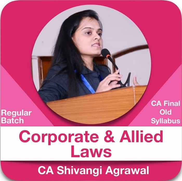 Corporate and Allied Laws Regular Batch