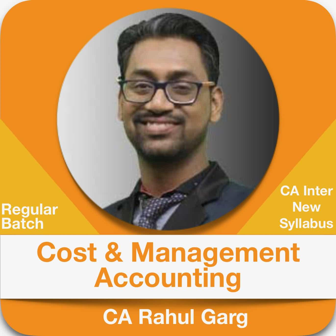 Cost & Management Accounting Regular Batch