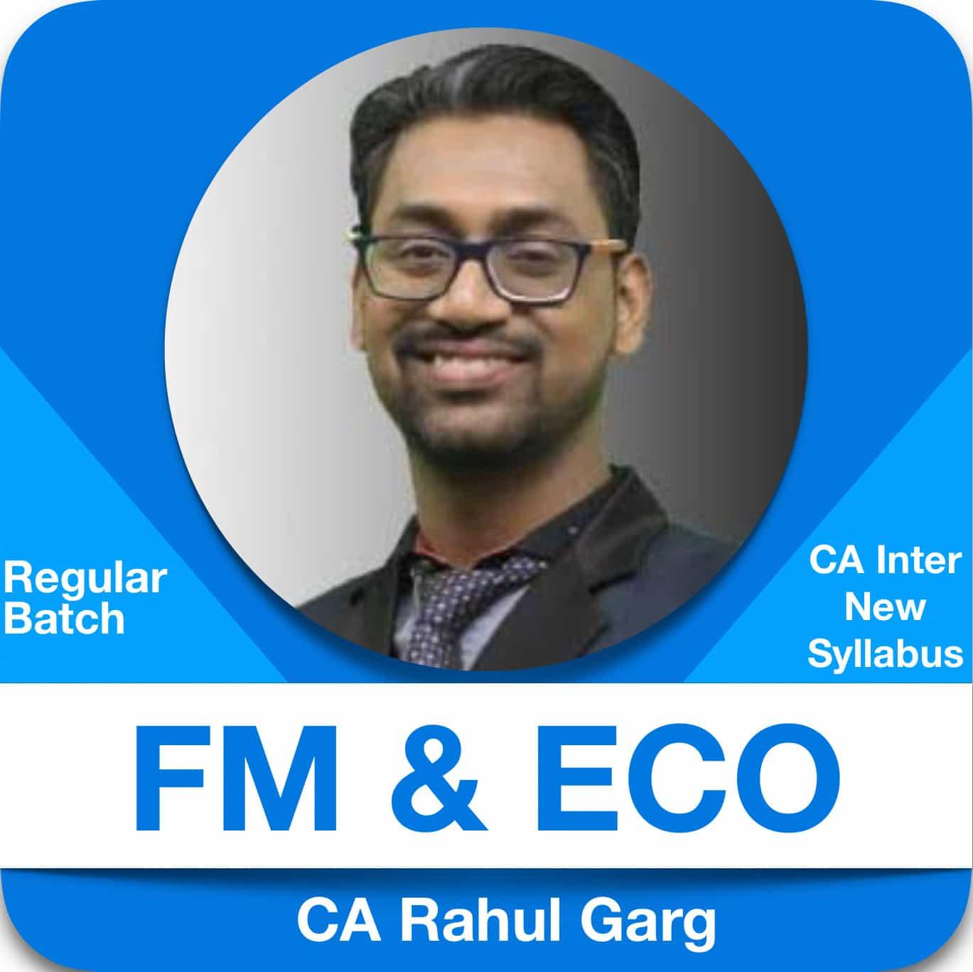 FM & ECO Regular Batch