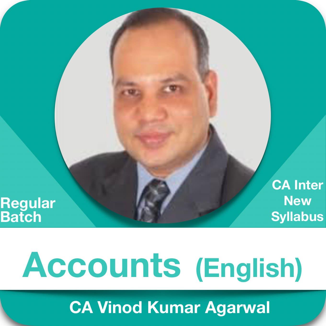 Accounts (1.2 & 3 Views) Regular Batch in English