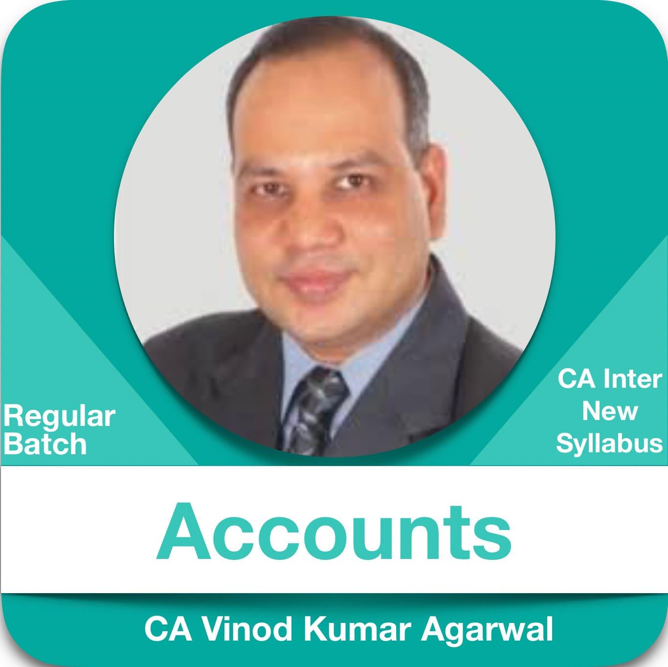 Accounts (1.5 & 1.2 View) Regular Batch in Hindi