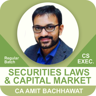 Securities Laws & Capital Market
