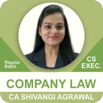 Company Law Regular Batch