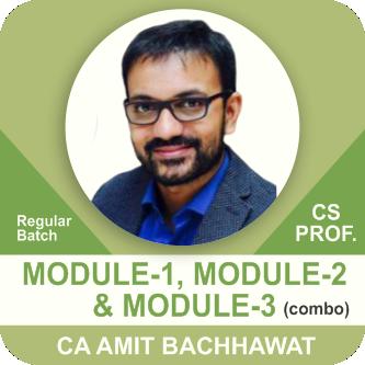 Module- 1 (Paper 1, 3) & Module- 2 (Paper 4,5,6) & Module- 3 (Paper 7) + Guidance Subject