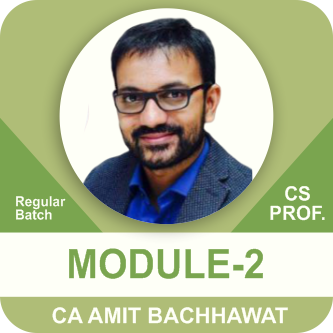 CS Professional Module- 2