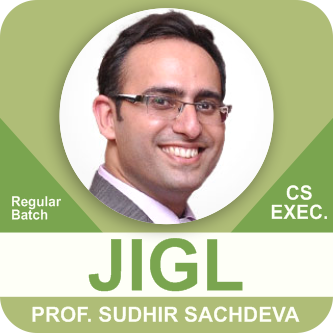 CS Executive Juriprudence Interpretation and General Laws By Prof Sudhir Sachdeva