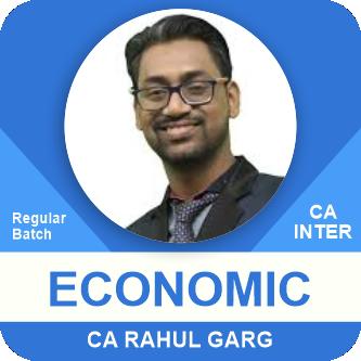 CA Inter Economics Only