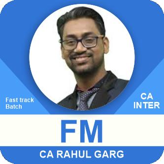 Financial Management FM Only Fast Track Batch