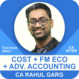 Cost & FM Eco & Advance Accounting Fast Track Batch Combo