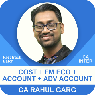 Cost  & FM Eco & Accounting & Advance Accounting Fast Track Batch Combo