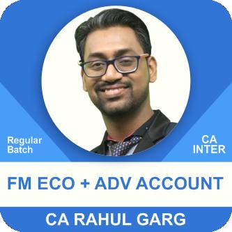 Advance Accounting & FM Eco Regular Batch Combo