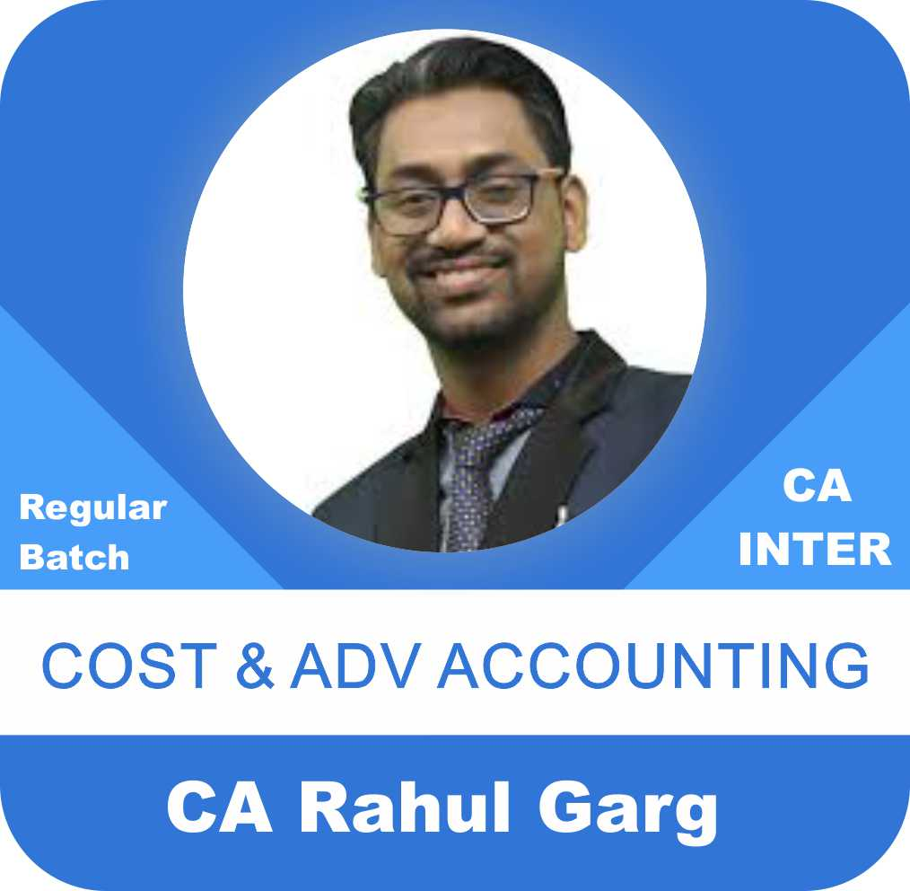 Cost & Advance Accounting Regular Batch