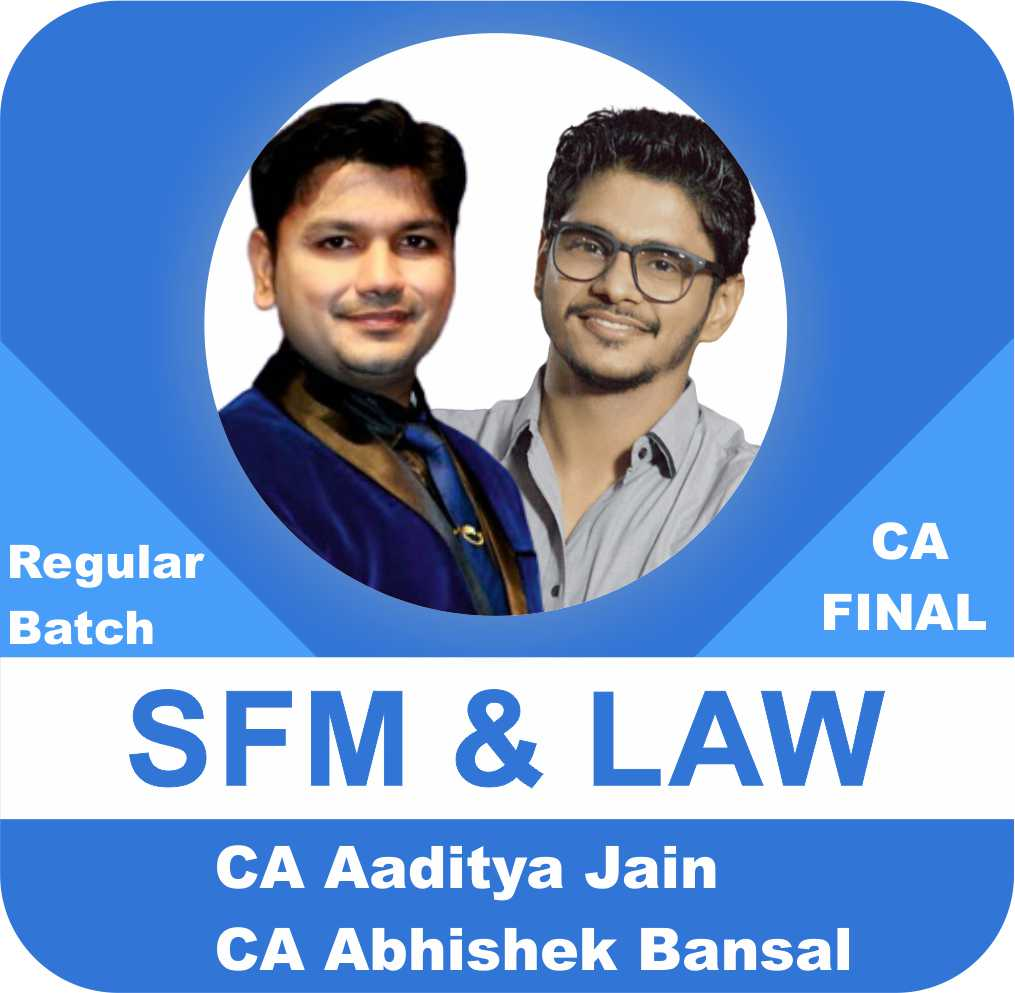 SFM (1.25 View) & Law (2 View) Regular Batch Combo New Syllabus