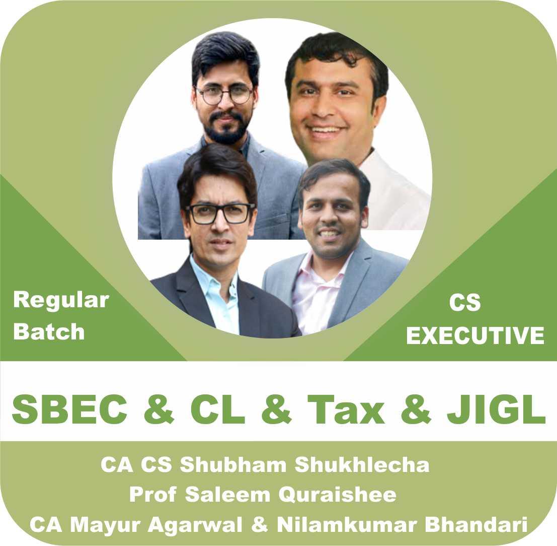 SBEC + JIGL + CL + TAX  (Module 1) Combo