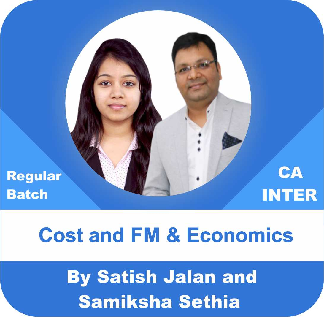 Cost and FM and Economics Regular Batch Combo