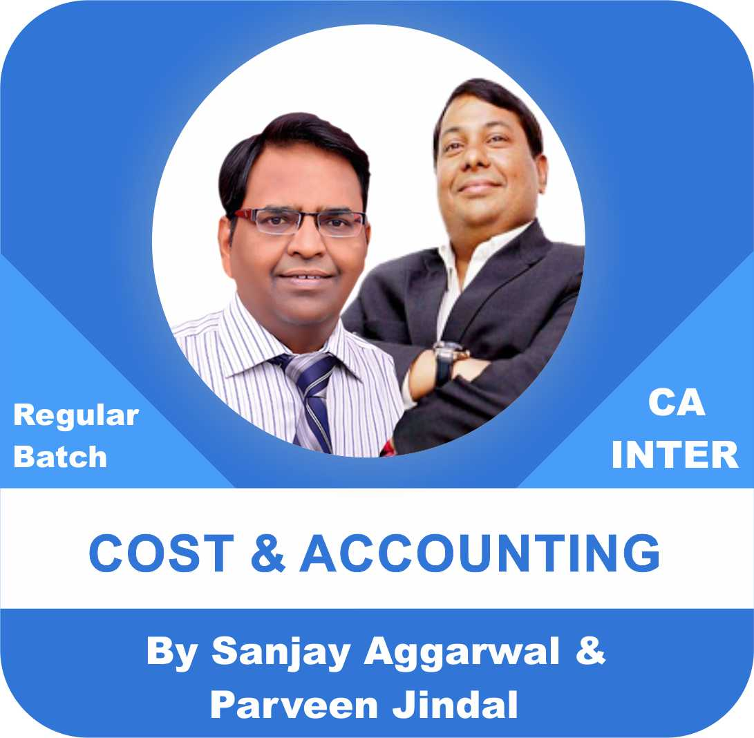 CA Inter Accounts (2 View) and Cost (2 View) Regular Batch Combo