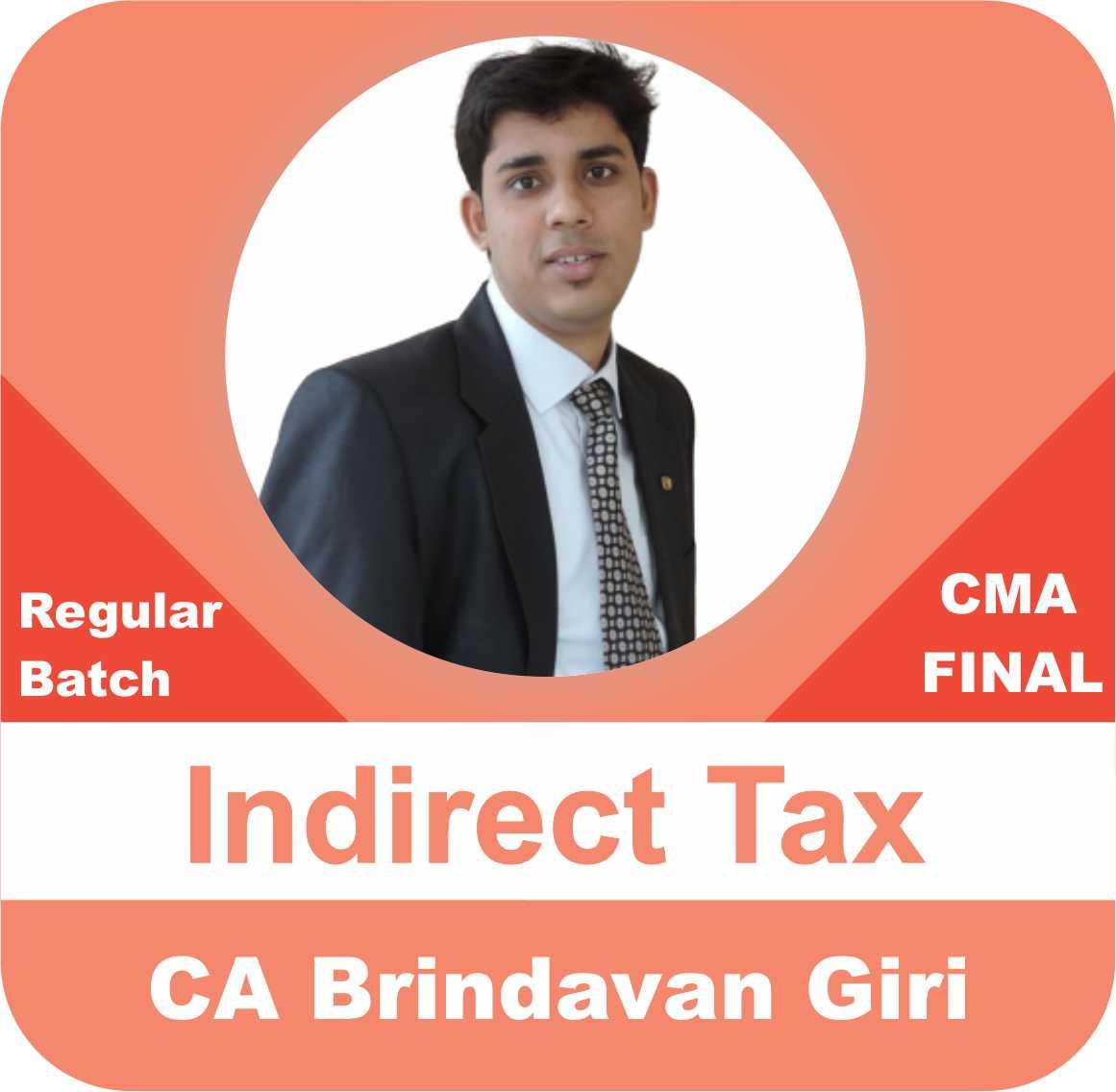 Indirect Tax Regular Batch