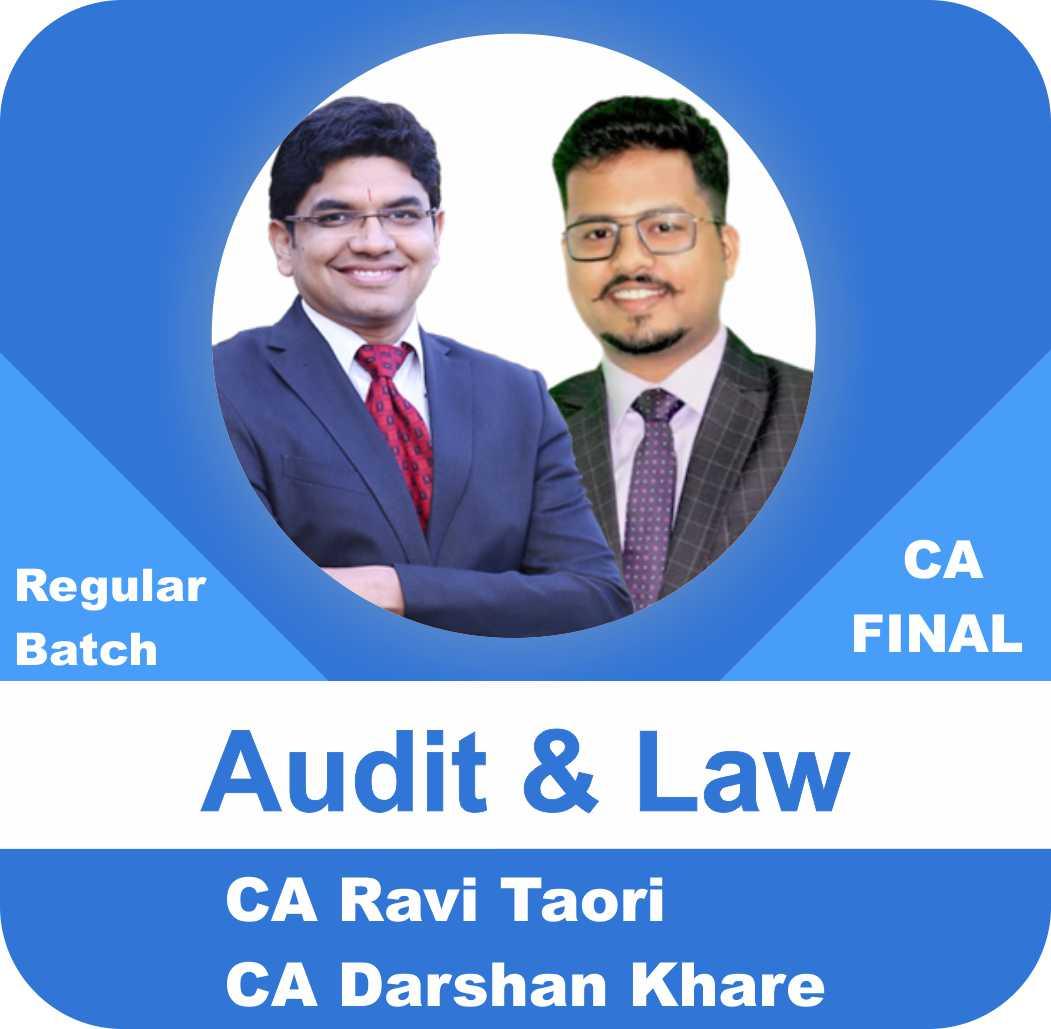 Audit & Law Regular Batch Combo New Syllabus
