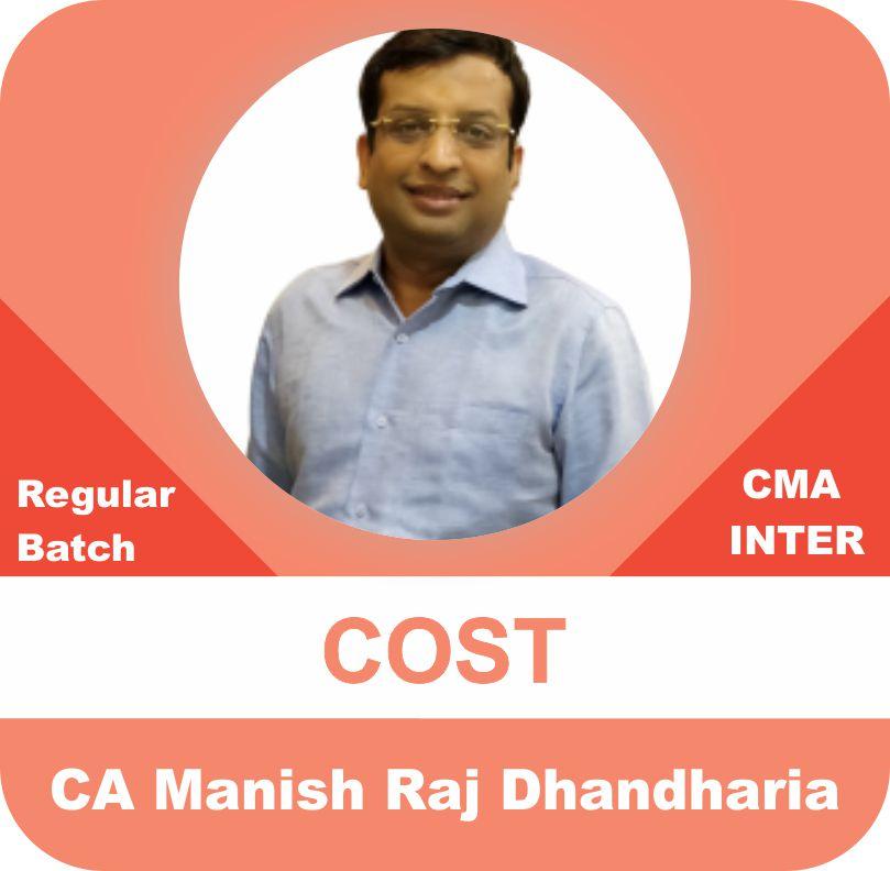 CMA Inter Cost Regular Batch