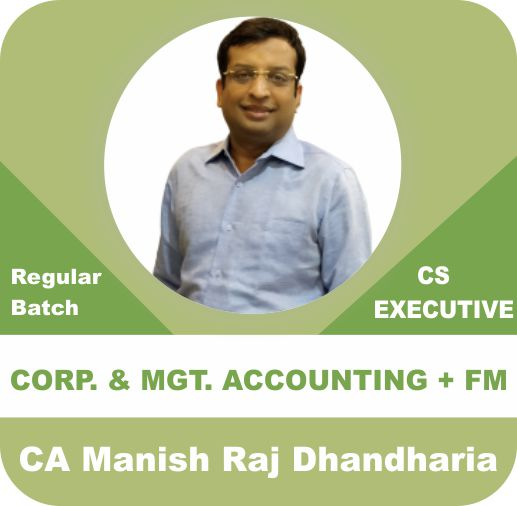Corporate and Management Accounting & Financial Management