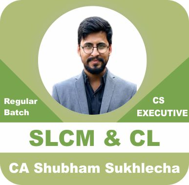 CS Executive Securities Laws and Capital Market and Company Law by CA Shubham Sukhlecha