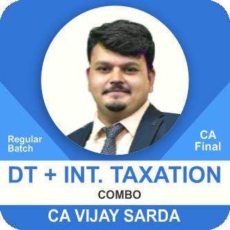 DT Regular & International Taxation Elective Paper Combo