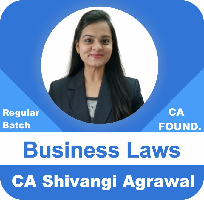CA Foundation Business Laws Regular Batch