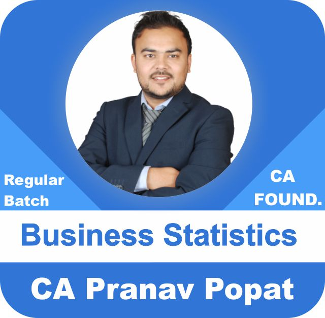 CA Foundation Statistics Only By CA Pranav Popat