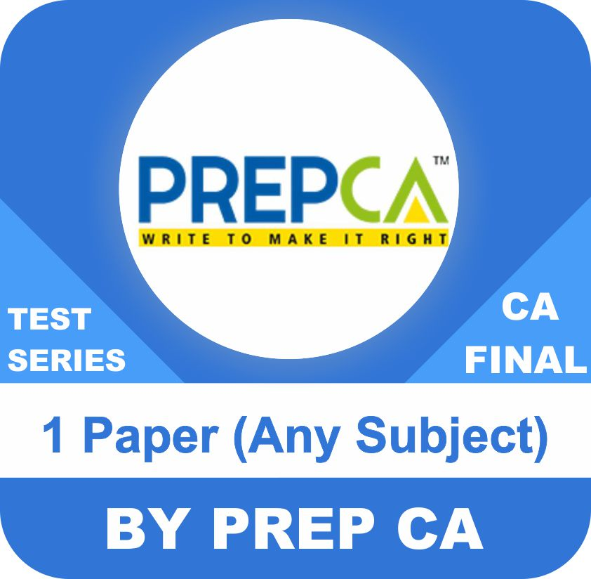 ( 1 Paper) Any One Subject Test Series in Standard Program