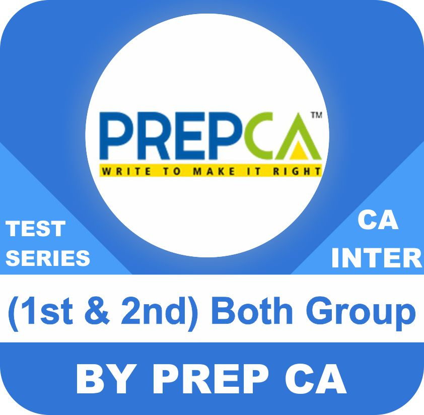 CA Inter (1st & 2nd)  Both Group Test Series In Premium Plus Program (New Syllabus)