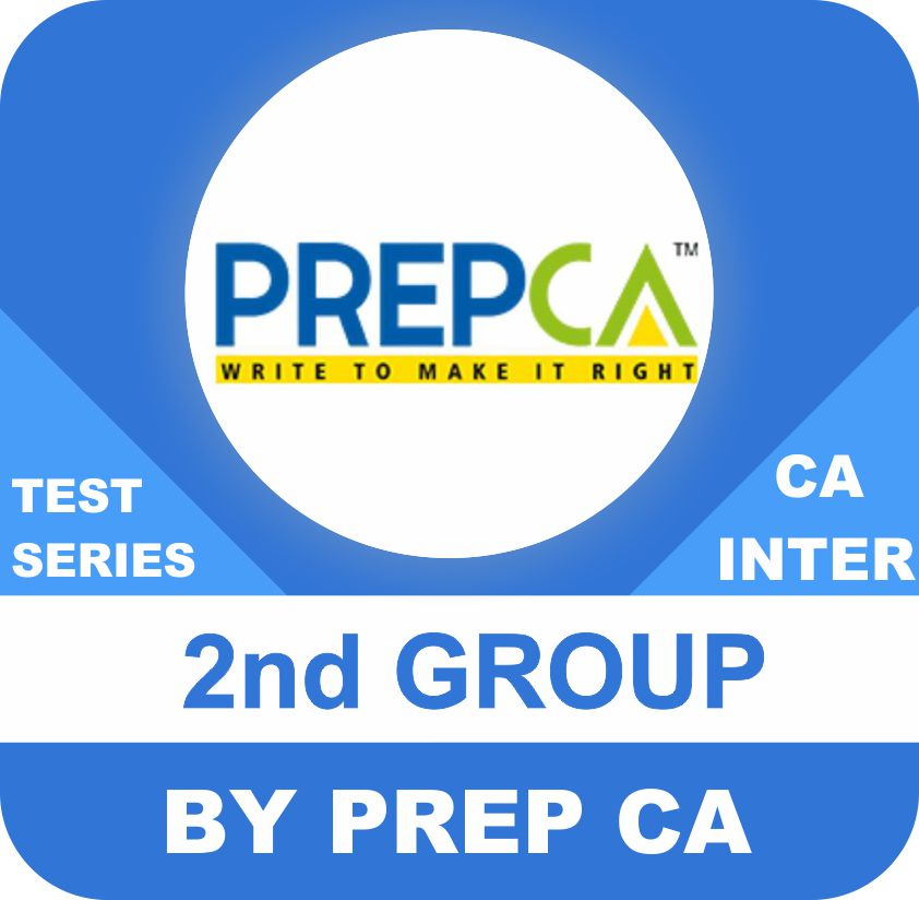 2nd Group (4 subjects, 4 papers each subject) Test Series In Standard Program