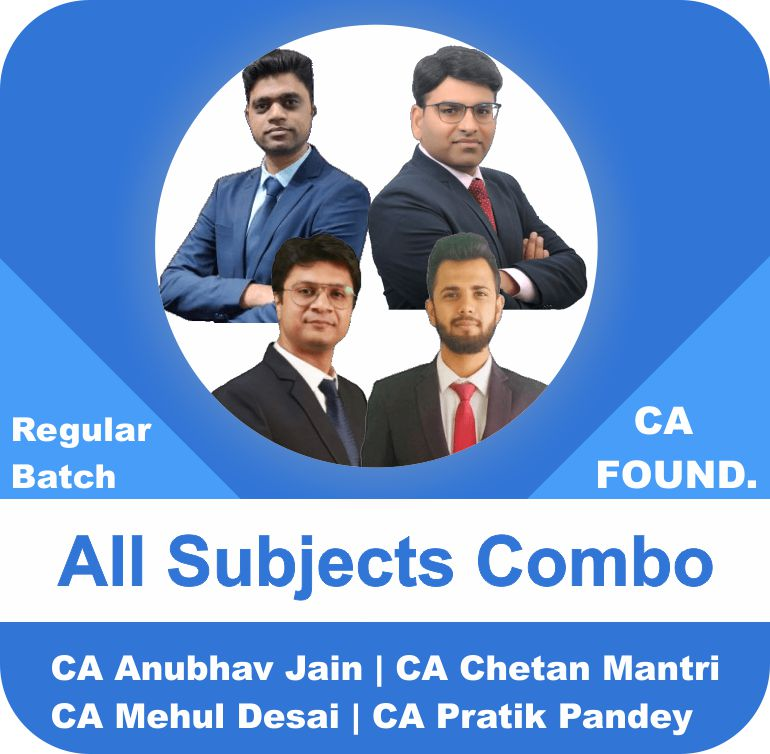 CA Foundation All Subjects Combo Regular Batch