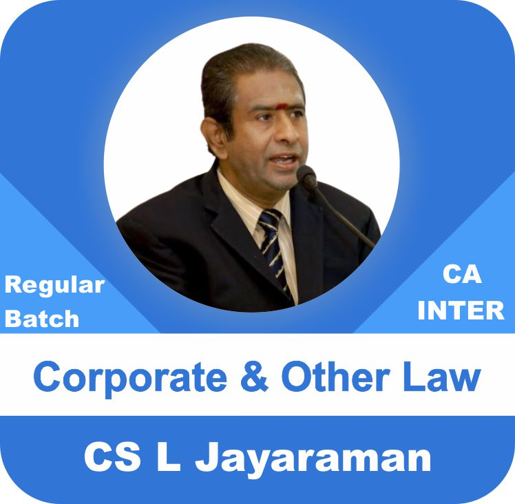 Corporate and Other Laws Regular Batch