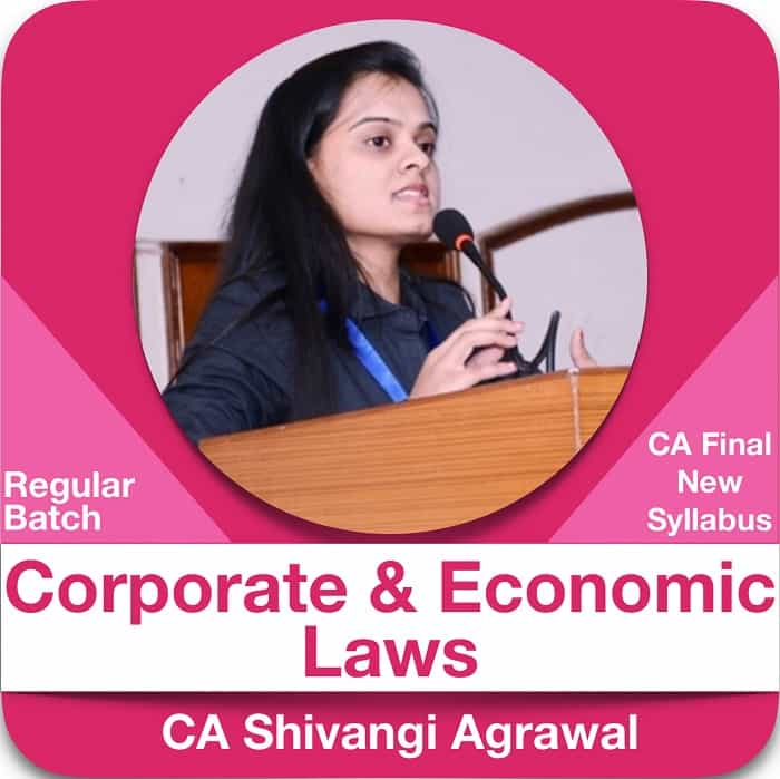Corporate and Economic Laws Regular Batch in English