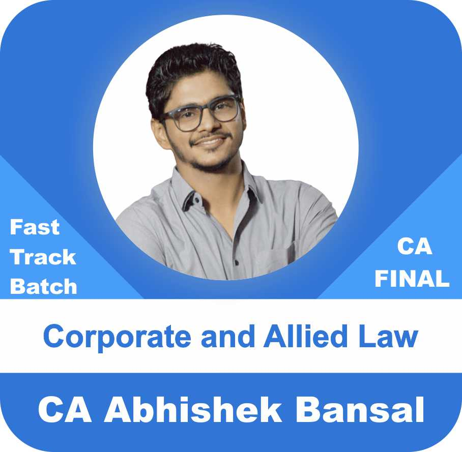 Corporate and Allied Laws Fast Track Batch