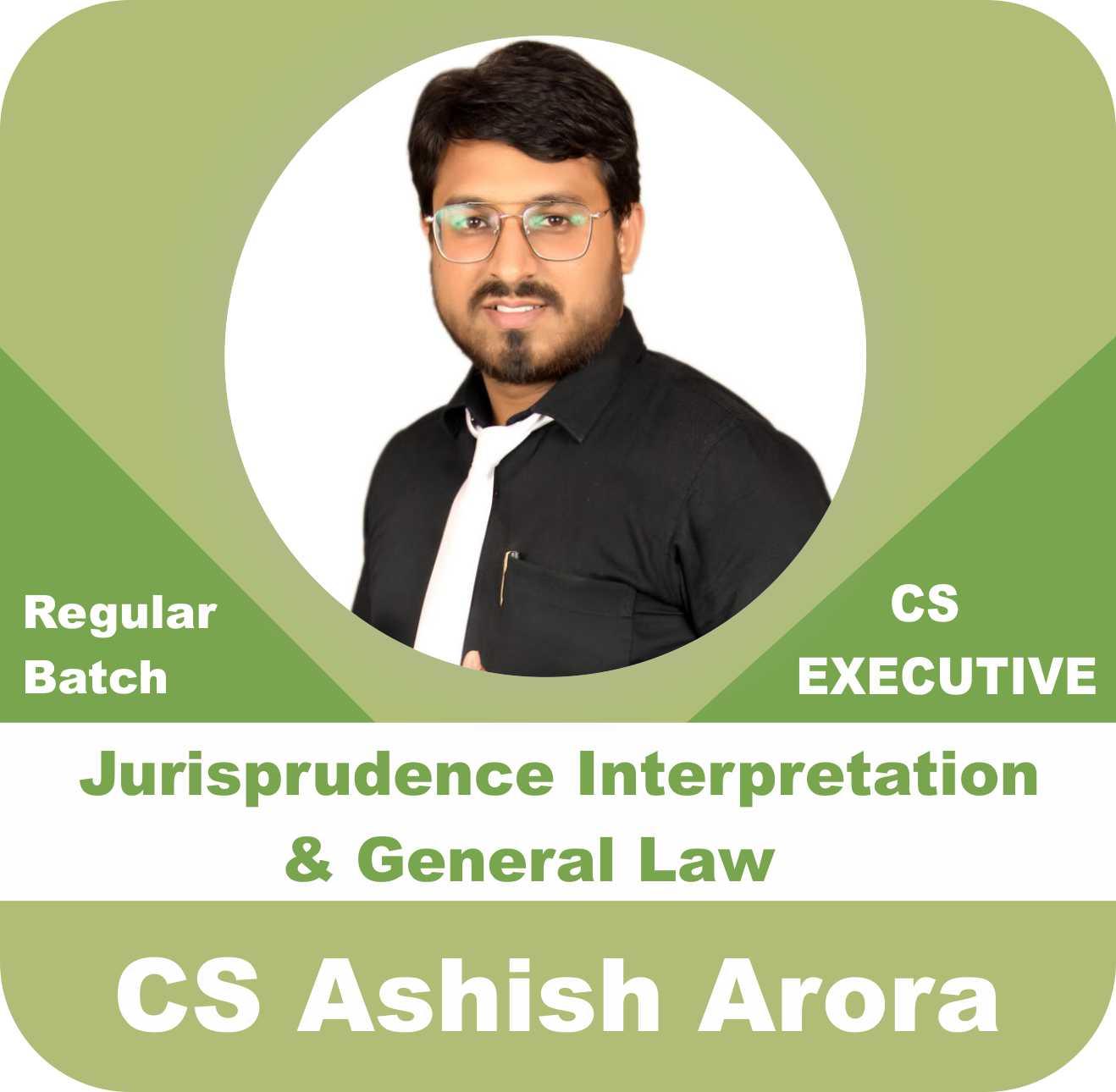 Jurisprudence Interpretation and General Law Regular Batch