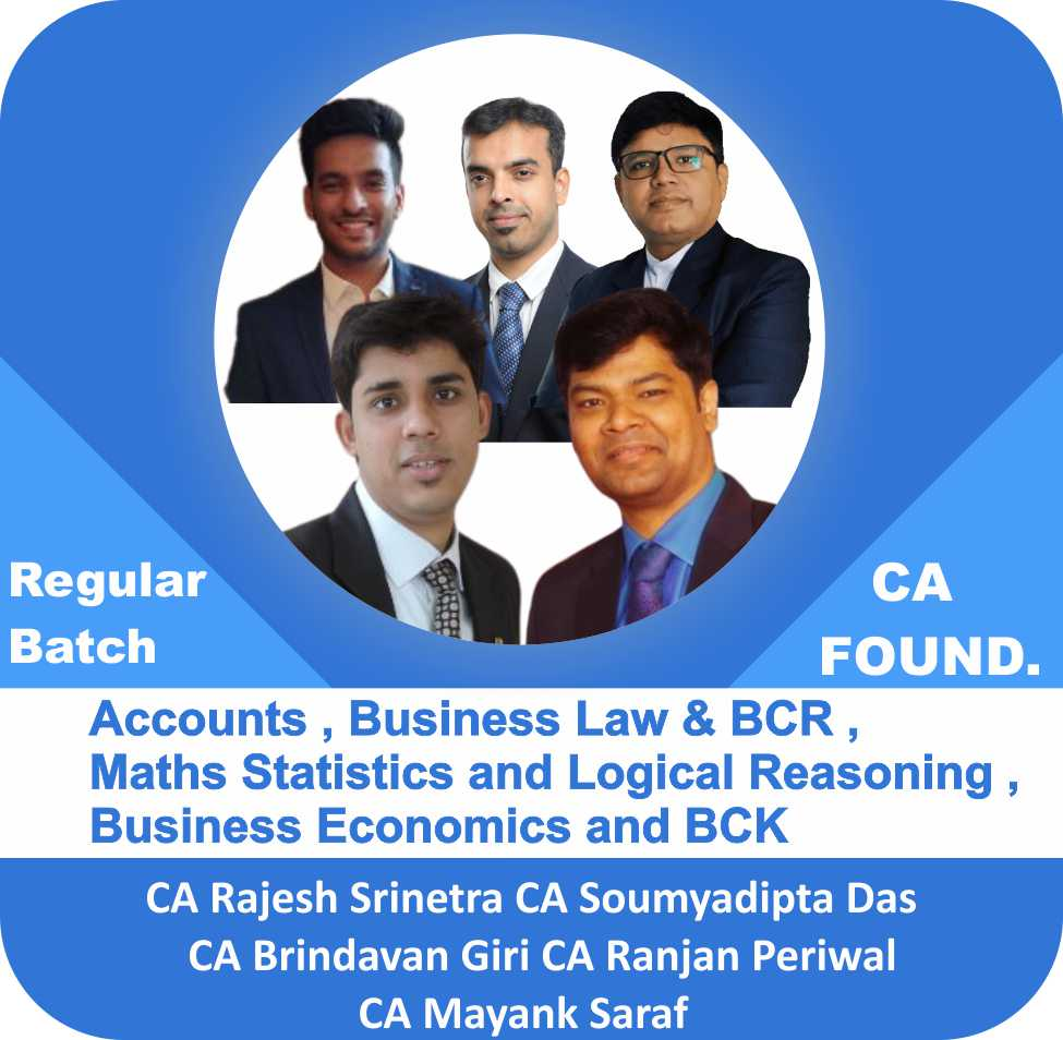 Accounts , Business Law & BCR ,Maths Statistics and Logical Reasoning , Business Economics and BCK Combo