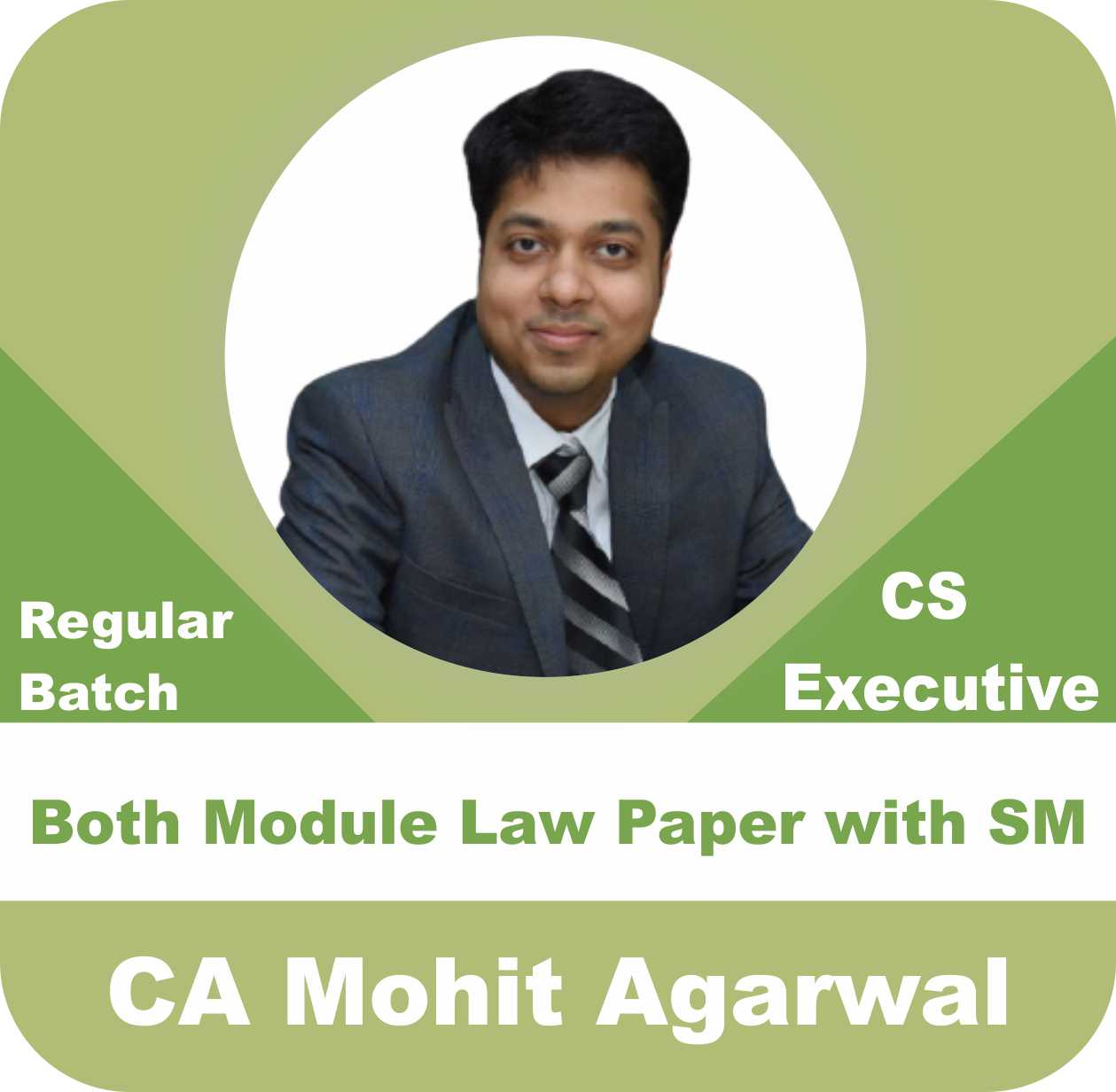 Both Module 5 Law Paper with SM Regular Batch Combo