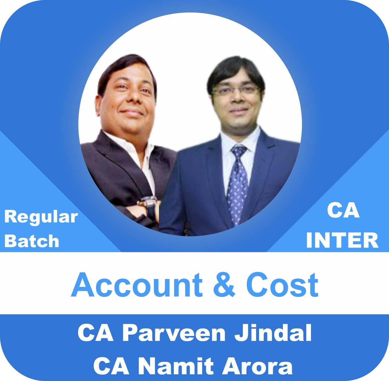 Account & Cost Regular Batch Combo