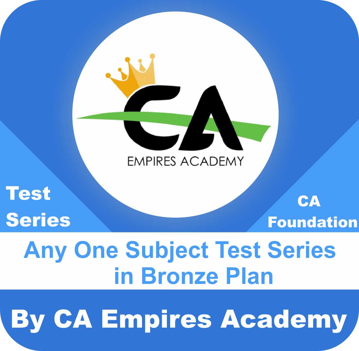 Any One Subject Test Series in Bronze Plan