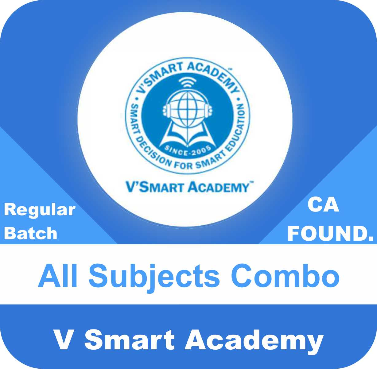 CA Foundation All Subjects Combo (Acc,Law,Bcr,Bck,Maths,Eco)