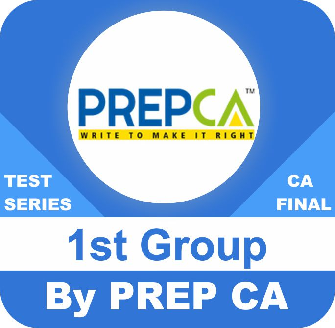8 papers, 2 papers per subject (4 Subject) 1st Group Test Series In Premium Program